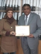 Achievement Award Presented by Indian Airlines To Nasser Travel(Rayhana)